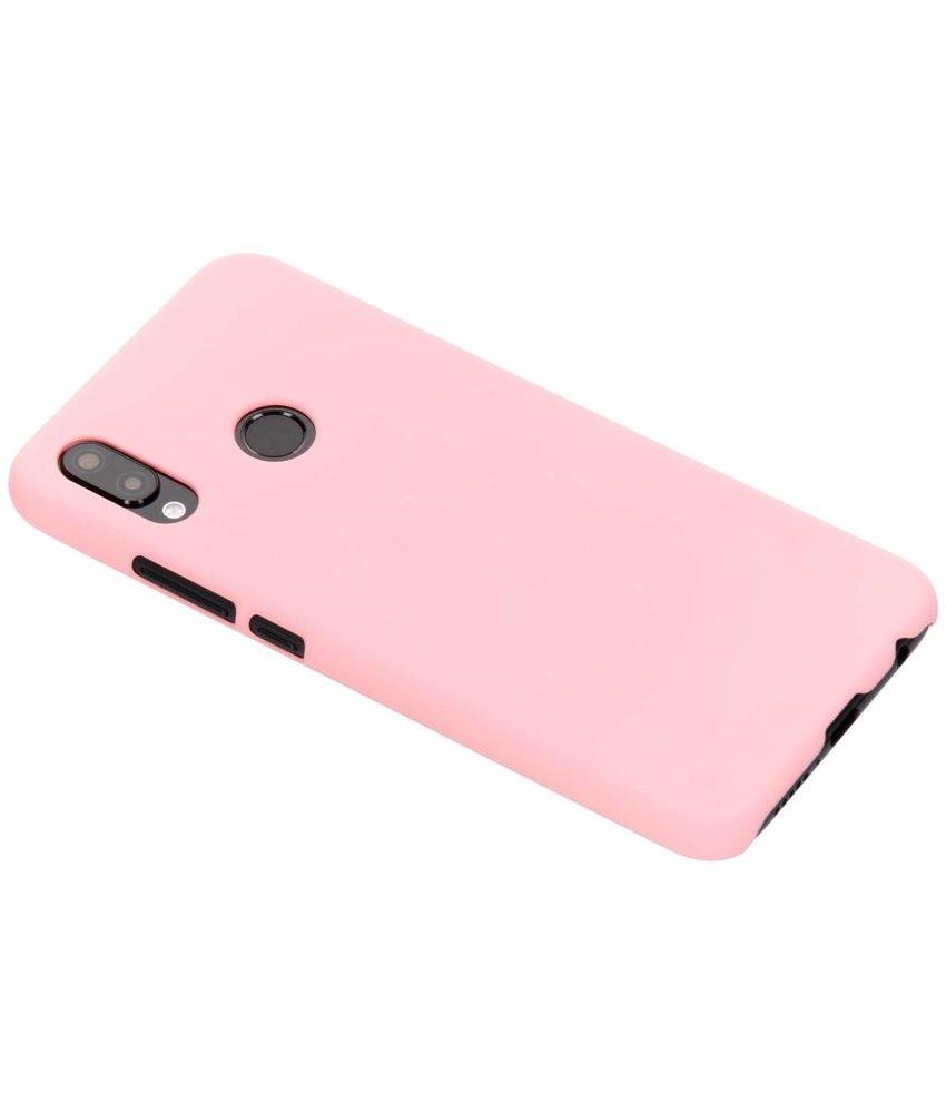 Roze Effen hardcase hoesje Huawei P20 Lite