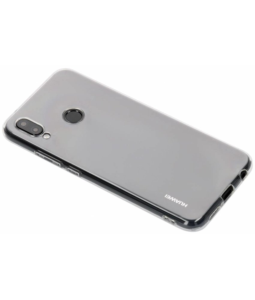 Ultra Thin Transparant Backcover Huawei P20 Lite
