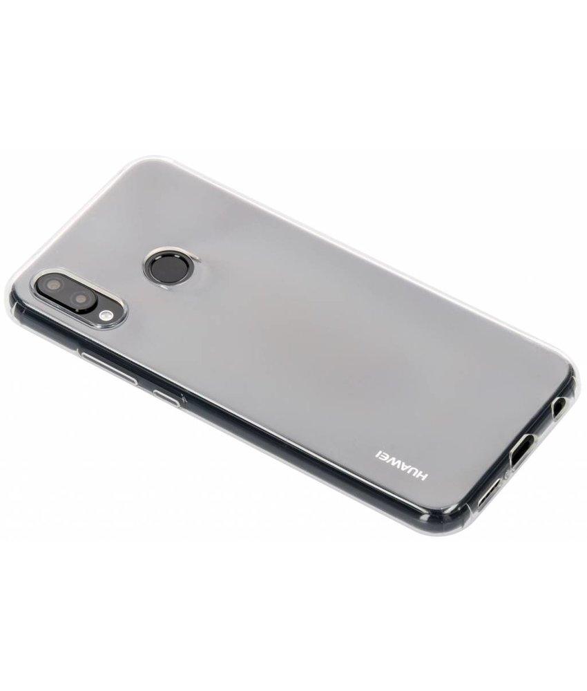 Huawei Soft Clear Backcover Huawei P20 Lite