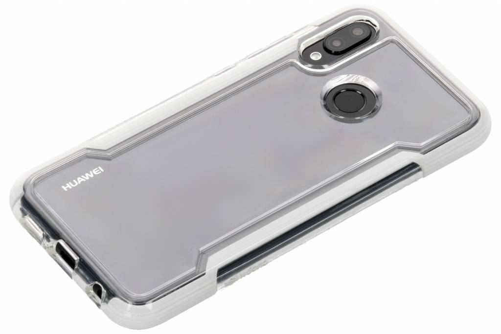 new style 8677b 7736b X-Doria Defense Clear Backcover voor Huawei P20 Lite - Wit