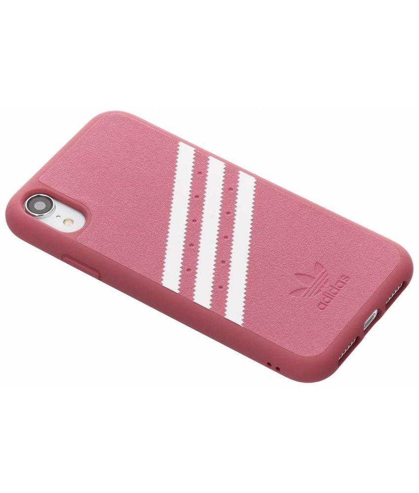 adidas Originals Roze OR Moulded Suède Case iPhone Xr