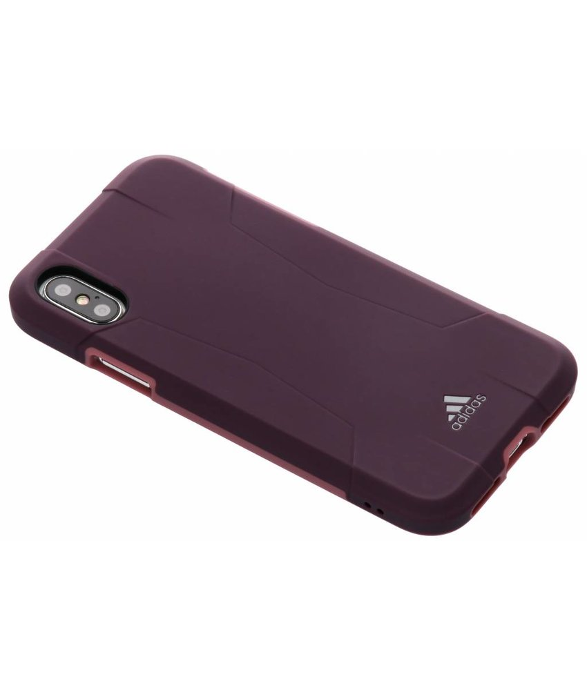 adidas Sports Paars Solo Case iPhone Xs / X