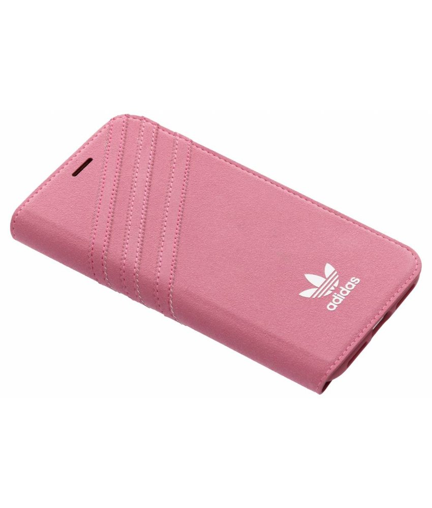 adidas Originals Roze Suède Booklet Case iPhone Xs / X