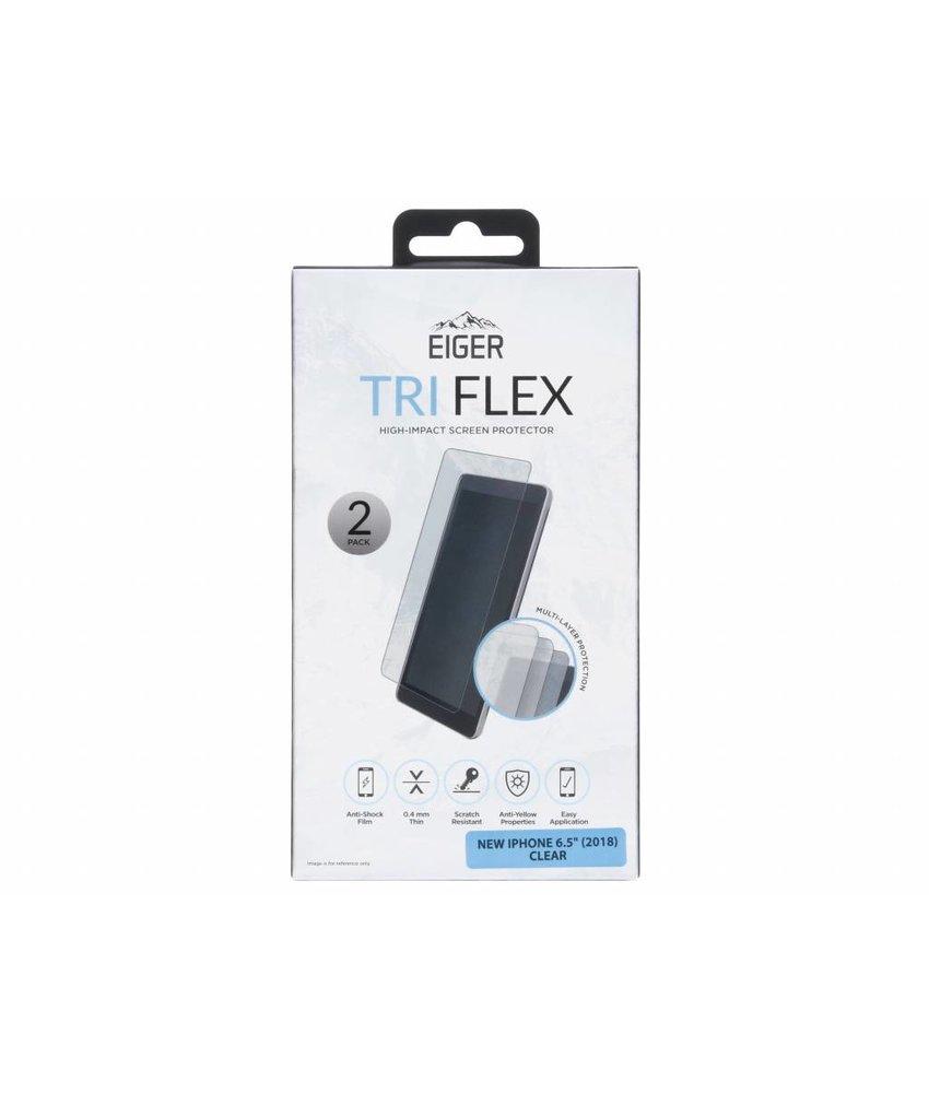 Eiger Tri Flex Screenprotector iPhone Xs Max