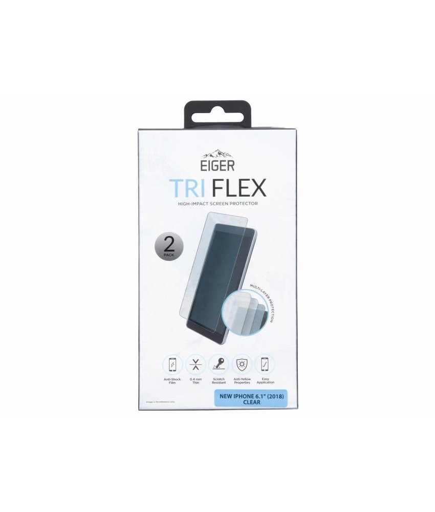 Eiger Tri Flex Screenprotector iPhone Xr