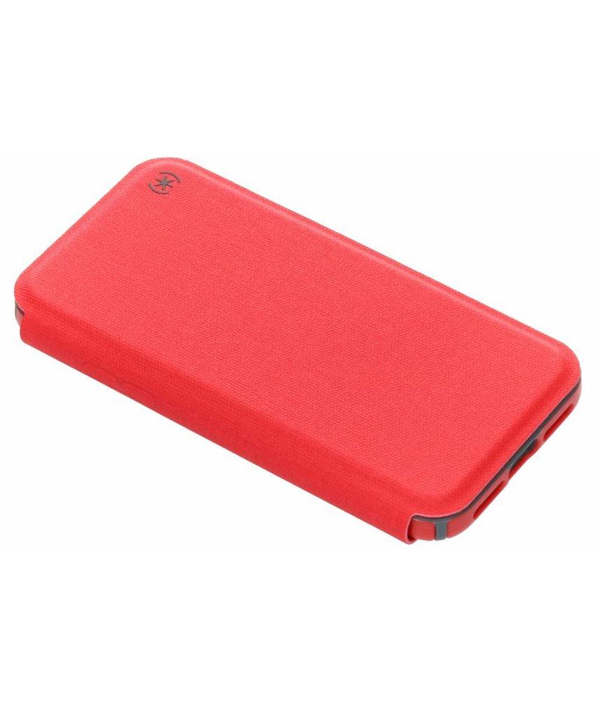 Speck Rood Presidio Folio Case iPhone Xs / X