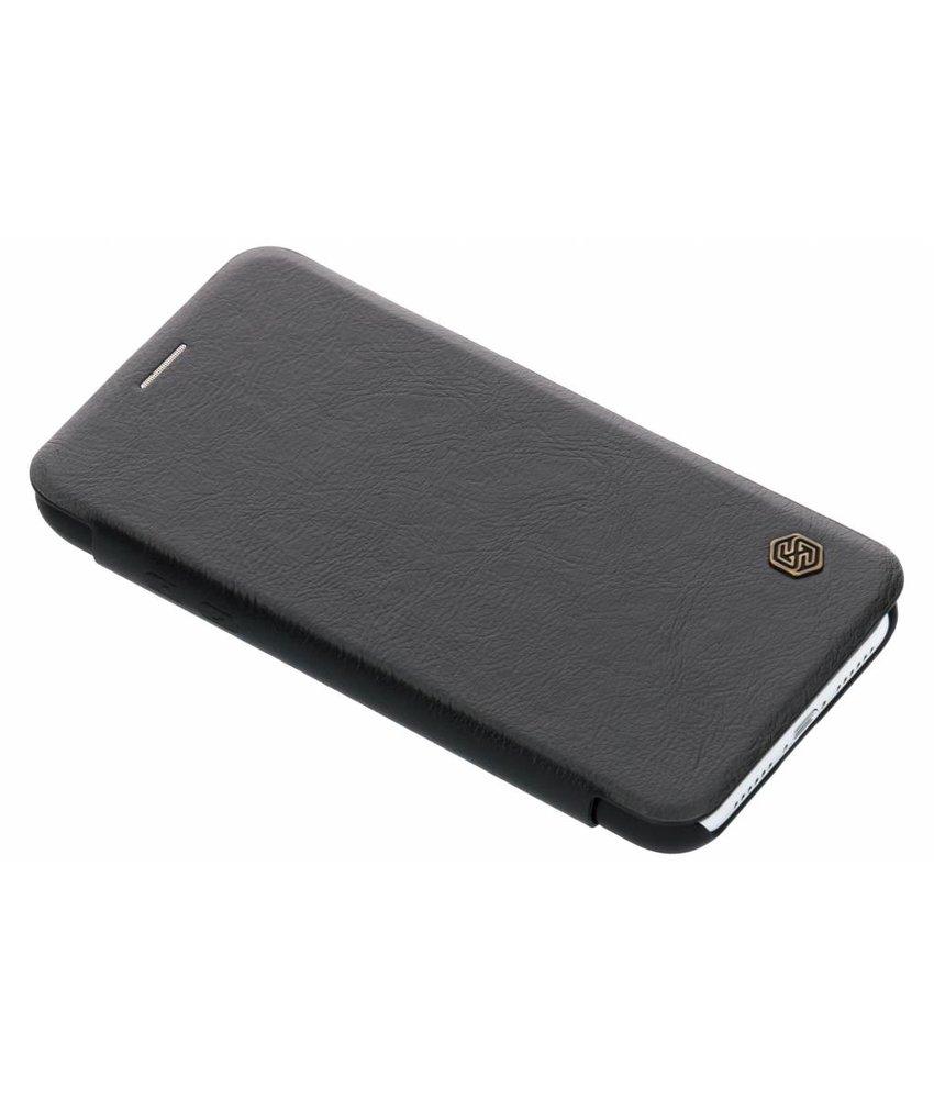 Nillkin Zwart Qin Leather slim booktype iPhone Xr