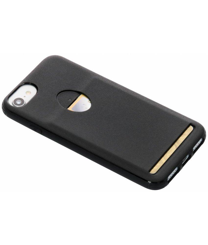 Zwart TPU Siliconen card case iPhone 8 / 7