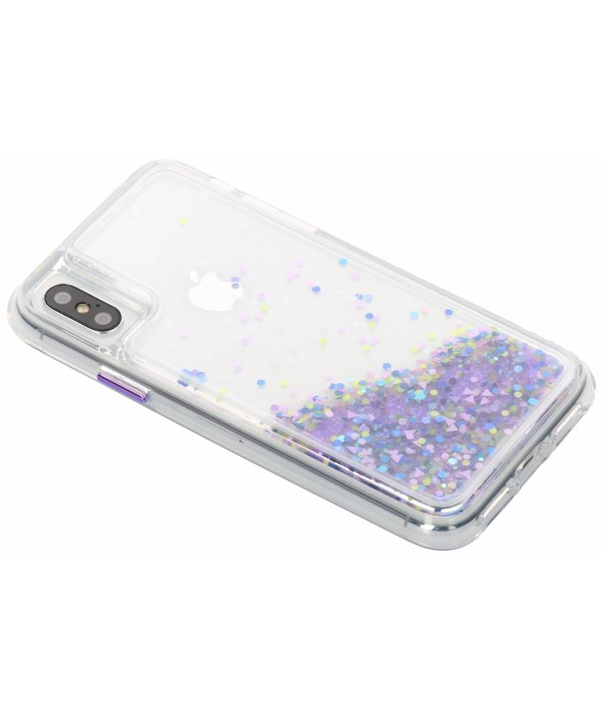 Case-Mate Paars Waterfall Glow Case iPhone Xs / X