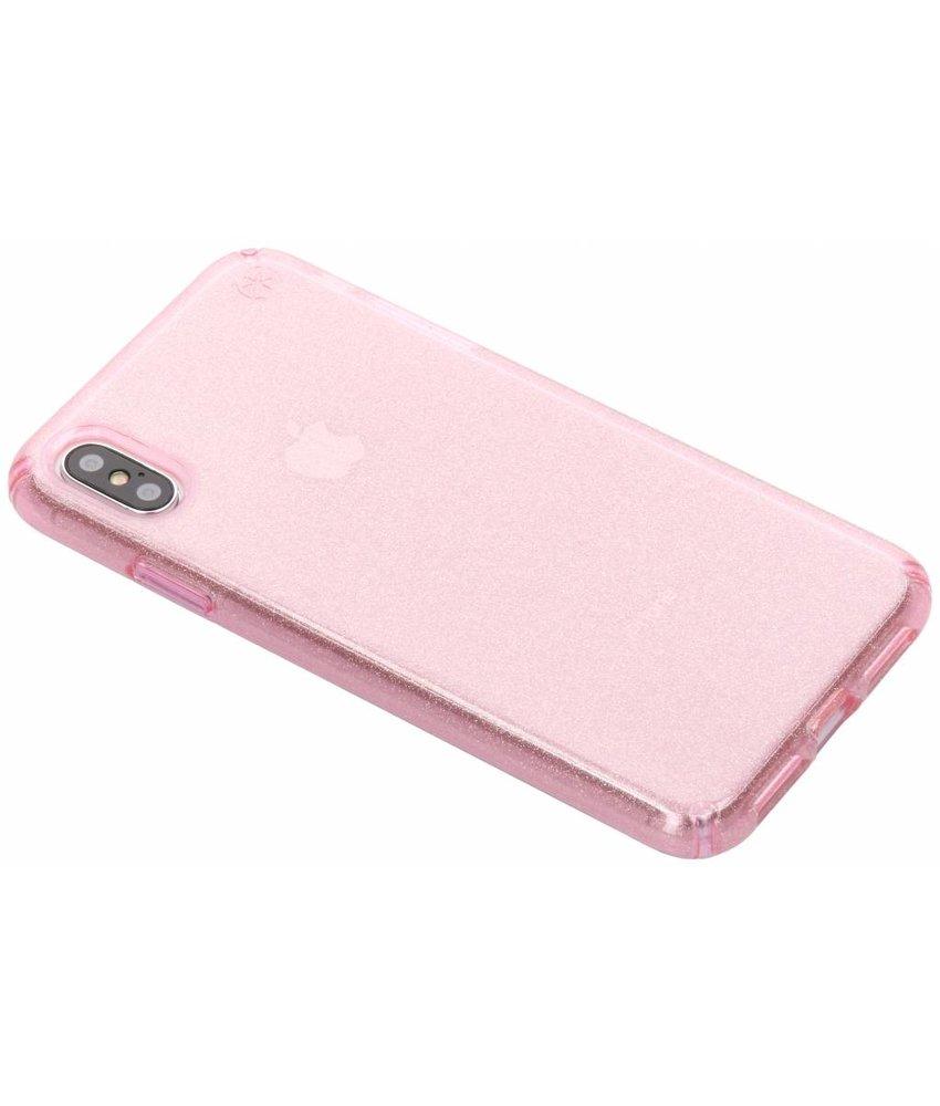 Speck Roze Presidio Clear + Glitter iPhone Xs Max