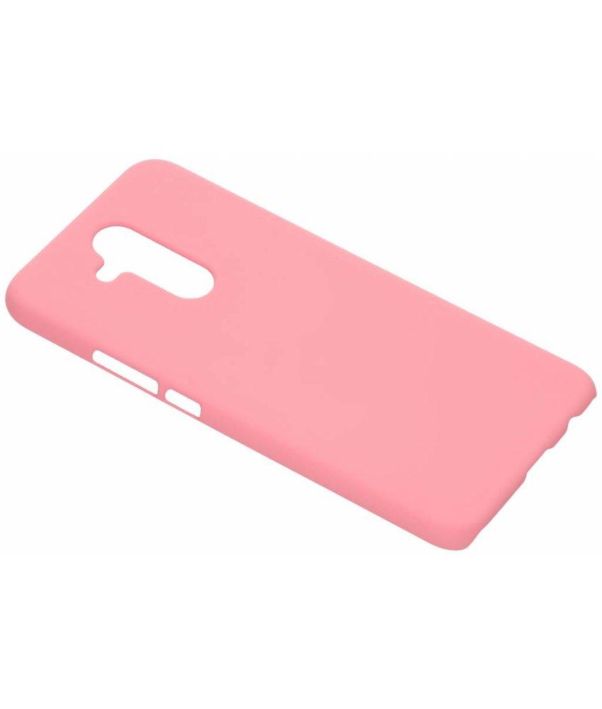 Roze effen hardcase hoesje Huawei Mate 20 Lite