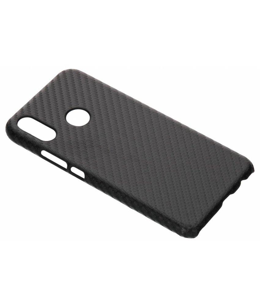 Zwart Carbon look hardcase hoesje Huawei P Smart Plus