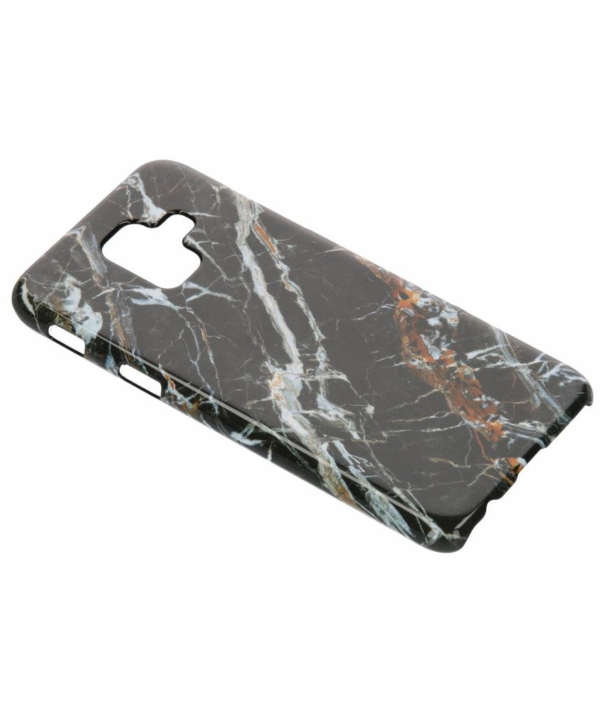 Selencia Black Marble Passion Hard Case Samsung Galaxy A6 (2018)