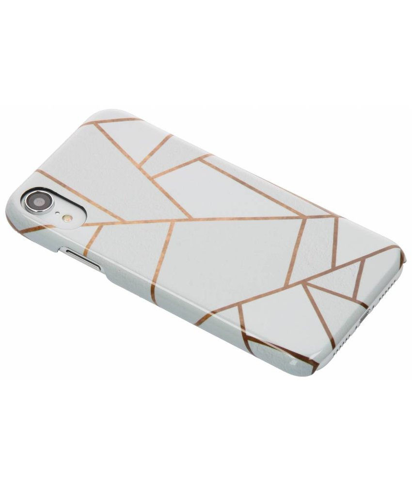 Selencia White Graphic Passion Hard Case iPhone Xr