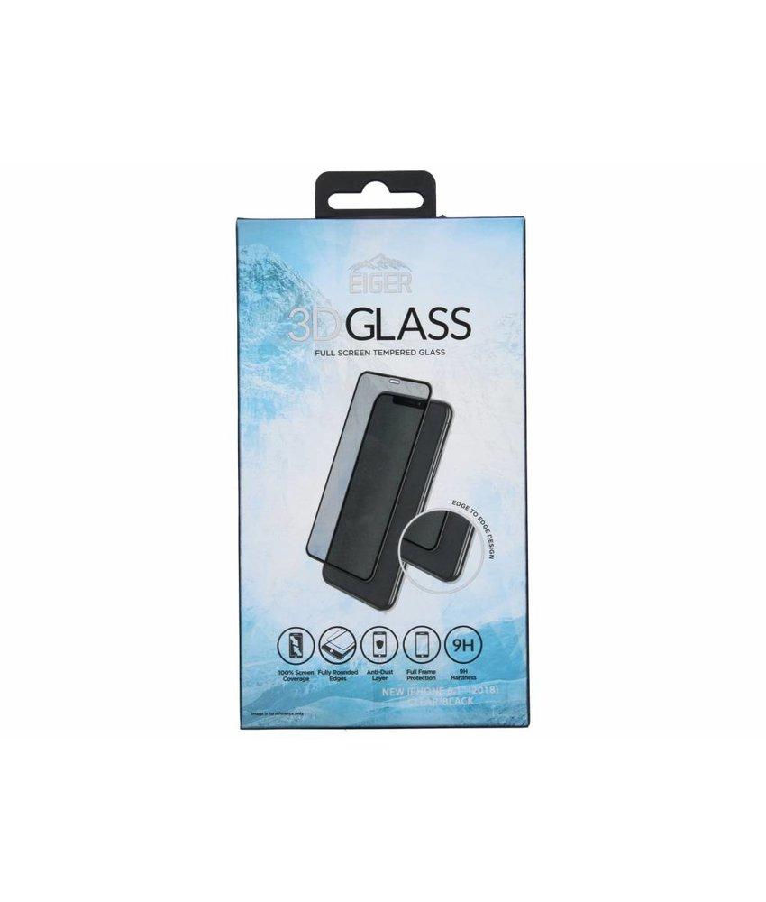 Eiger Zwarte Edge to Edge Tempered Glass Screenprotector iPhone Xr