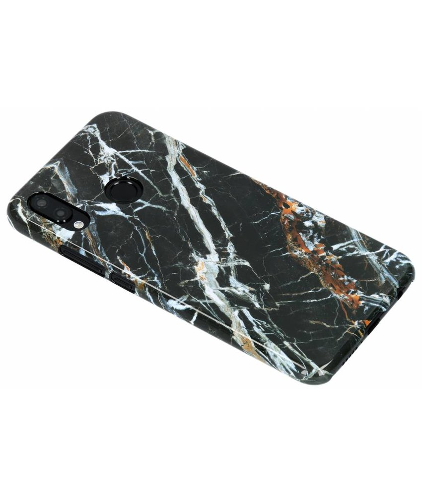 Selencia Black Marble Passion Hard Case Huawei P20 Lite