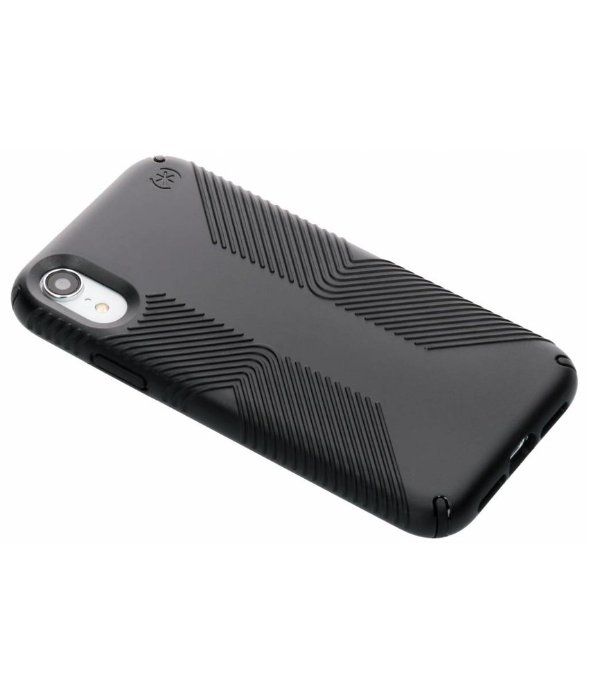 Speck Zwart Presidio Grip Case iPhone Xr