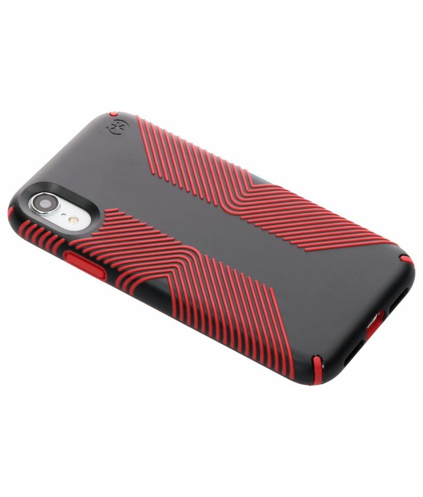 Speck Rood Presidio Grip Case iPhone Xr