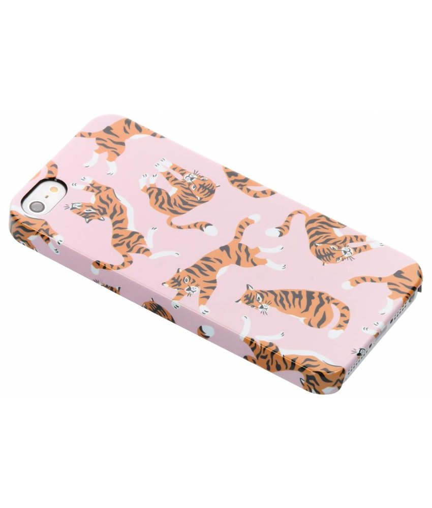 Selencia Tiger Passion Hard Case iPhone 5 / 5s / SE