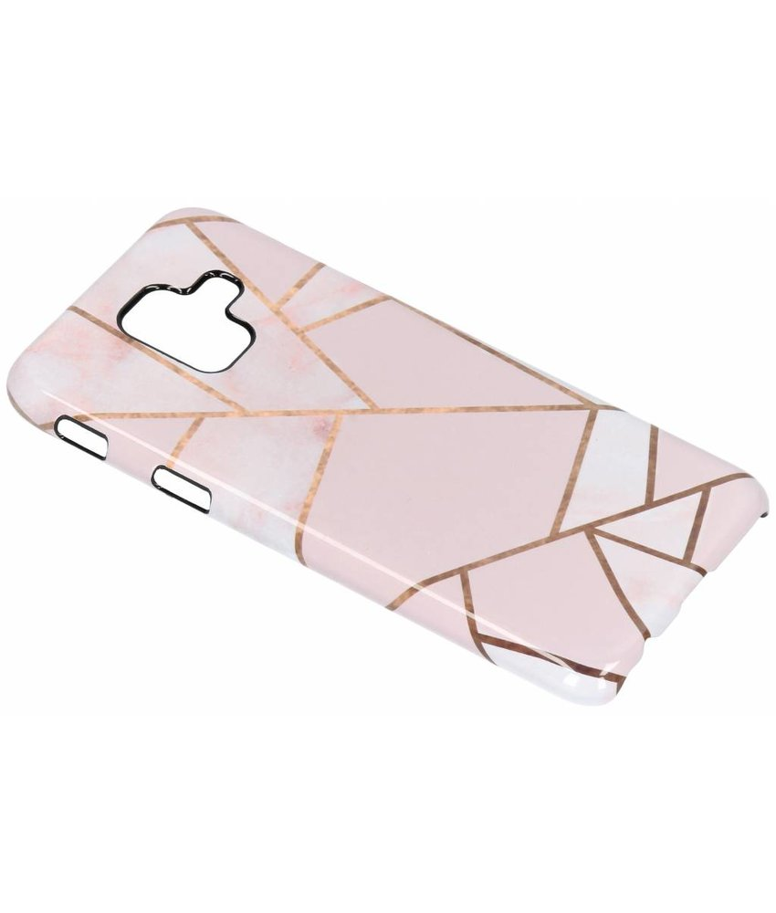 Selencia Pink Graphic Passion Hard Case Samsung Galaxy A6 (2018)