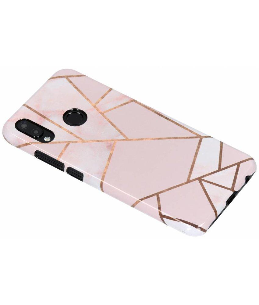 Selencia Pink Graphic Passion Hard Case Huawei P20 Lite