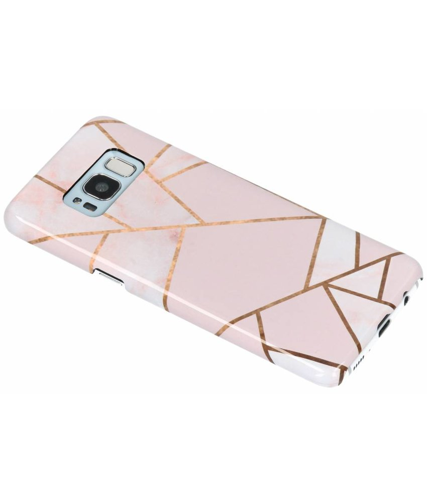 Selencia Pink Graphic Passion Hard Case Samsung Galaxy S8
