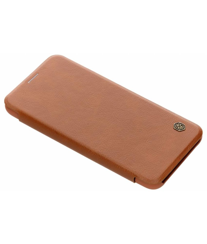 Nillkin Bruin Qin Leather slim booktype Huawei Mate 20 Lite
