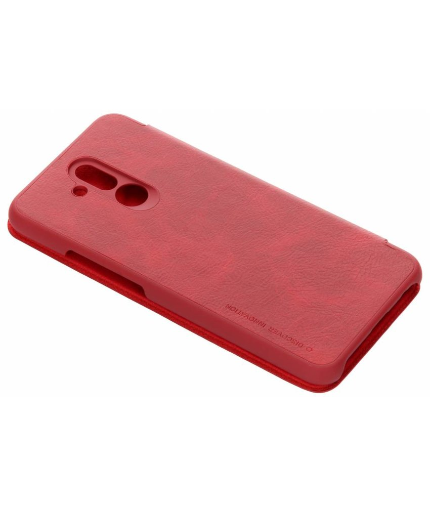 Nillkin Rood Qin Leather slim booktype Huawei Mate 20 Lite