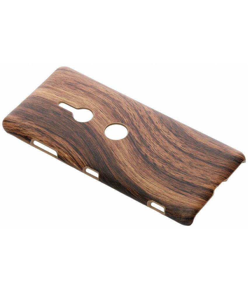 Hout Design Backcover Sony Xperia XZ3