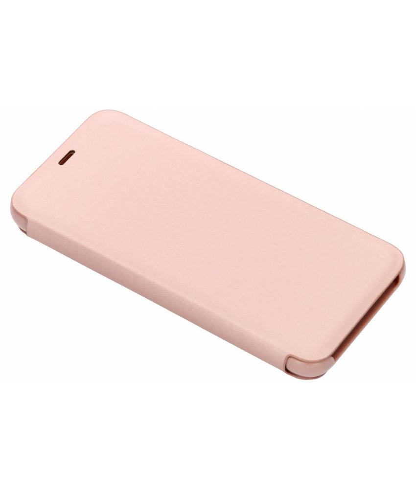 Rosé Goud luxe stand booktype hoes Samsung Galaxy A6 (2018)
