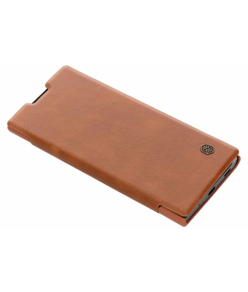 Nillkin Qin Leather Slim Booktype Sony Xperia XA2 Plus