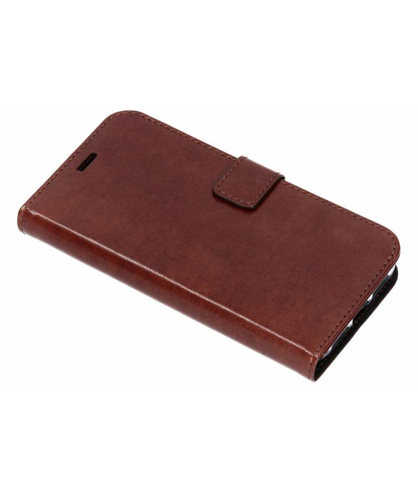 Valenta Bruin Booklet Leather iPhone Xr