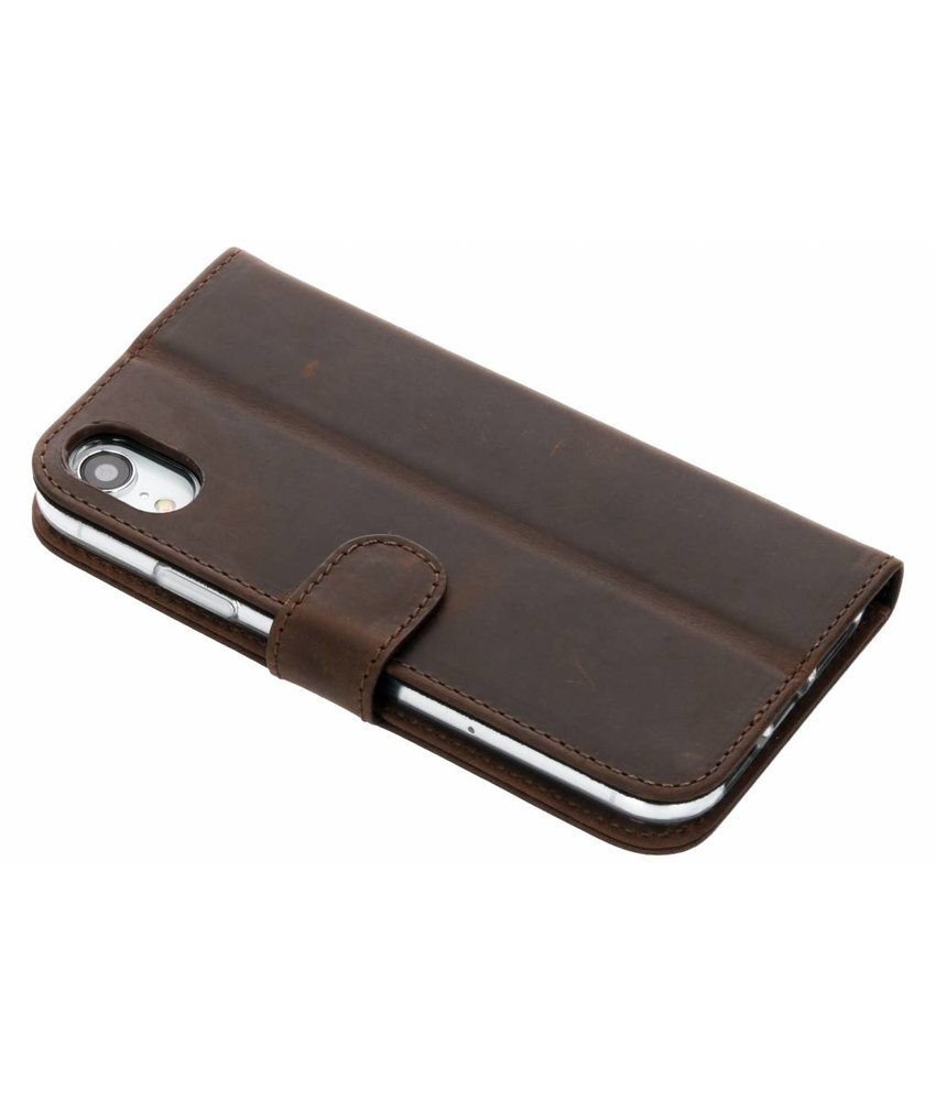 Valenta Vintage Bruin Booklet Classic Luxe iPhone Xr