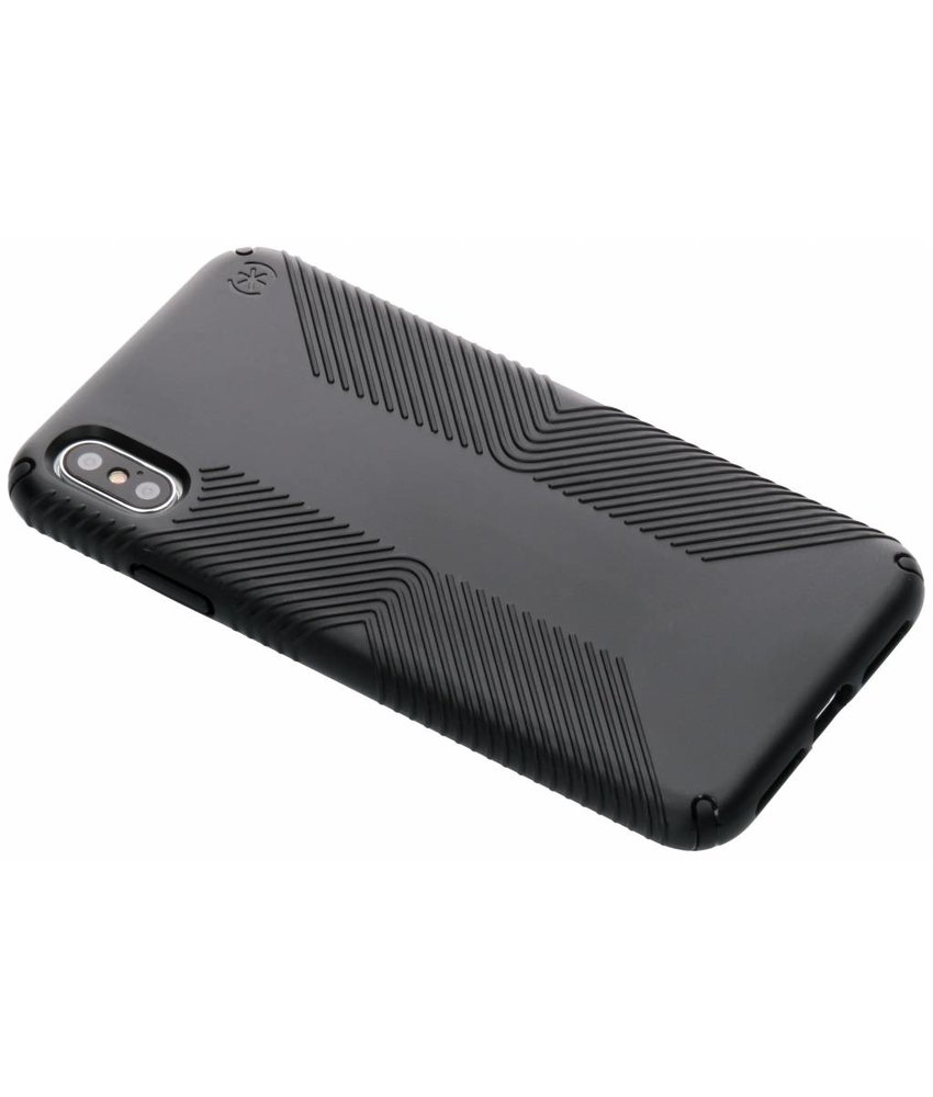 Speck Zwart Presidio Grip Case iPhone Xs Max