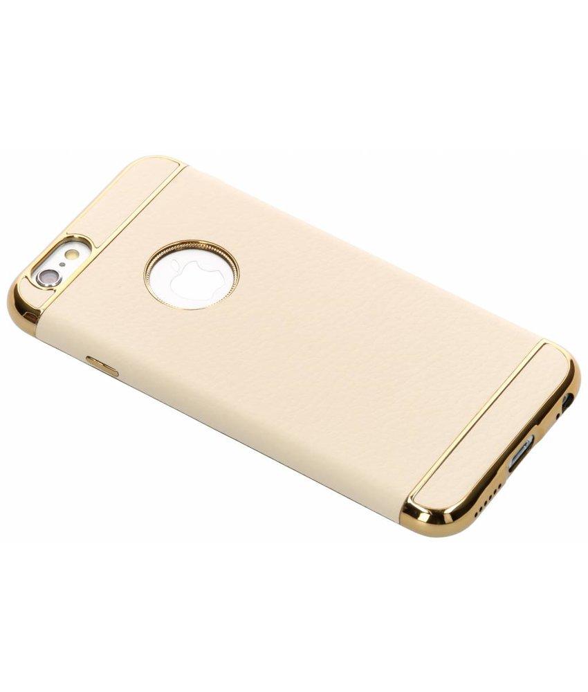 Luxe Lederen Backcover iPhone 6 / 6s