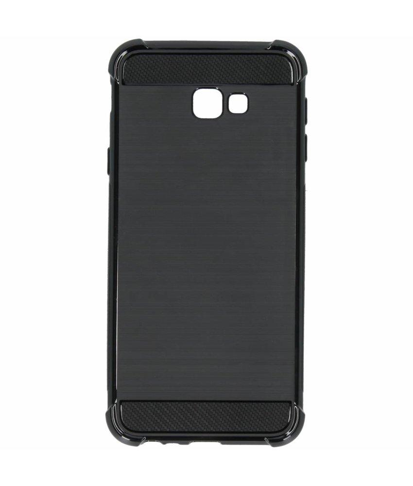 Zwart xtreme siliconen hoesje Samsung Galaxy J4 Plus