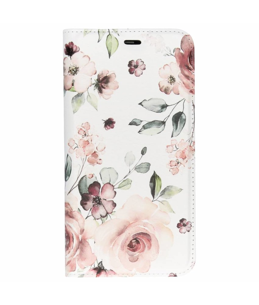 Design Softcase Booktype Huawei P Smart