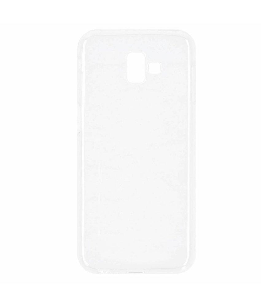Transparant gel case Samsung Galaxy J6 Plus