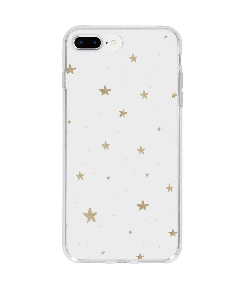 Winter design siliconen hoesje iPhone 8 Plus / 7 Plus