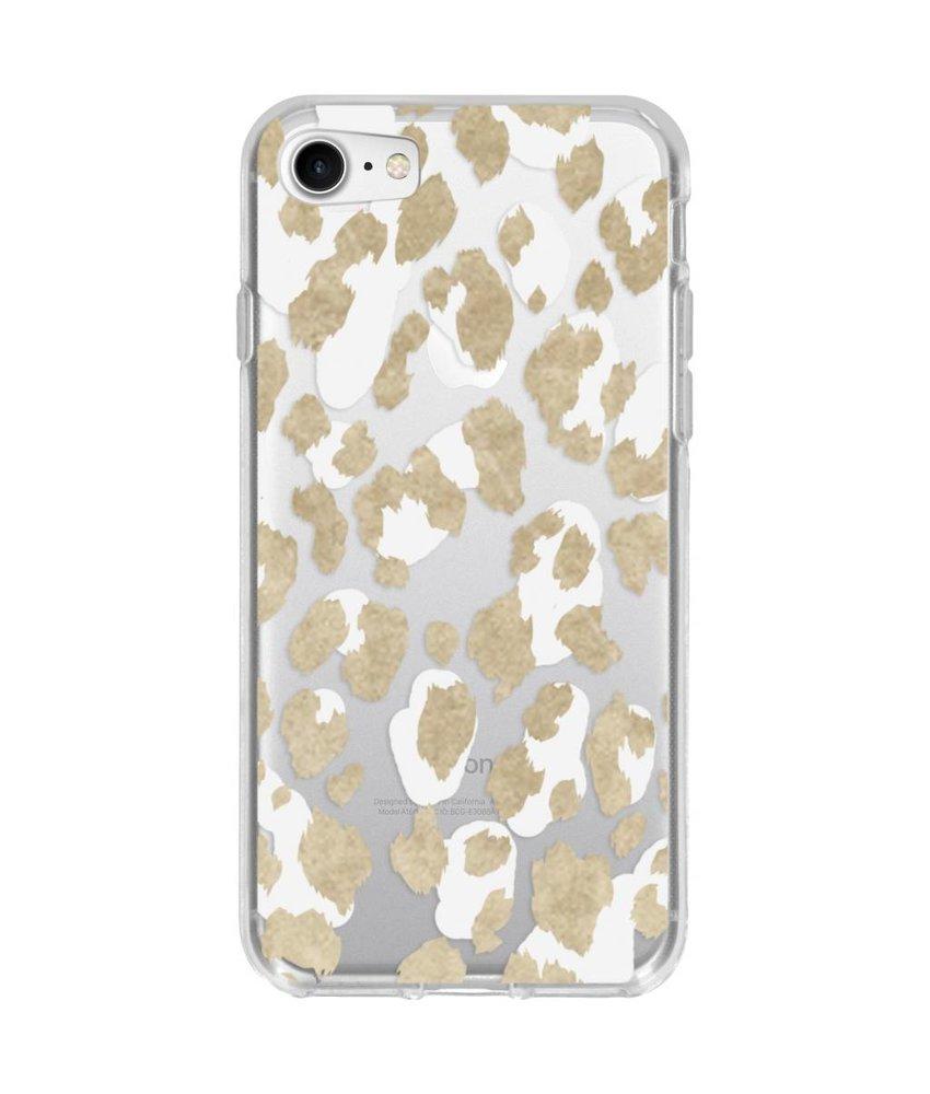 Winter design siliconen hoesje iPhone 8 / 7