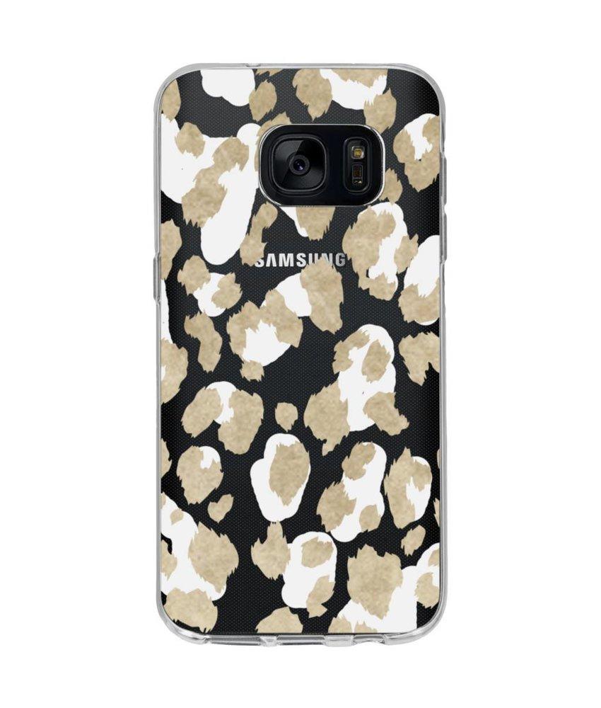 Winter design siliconen hoesje Samsung Galaxy S7