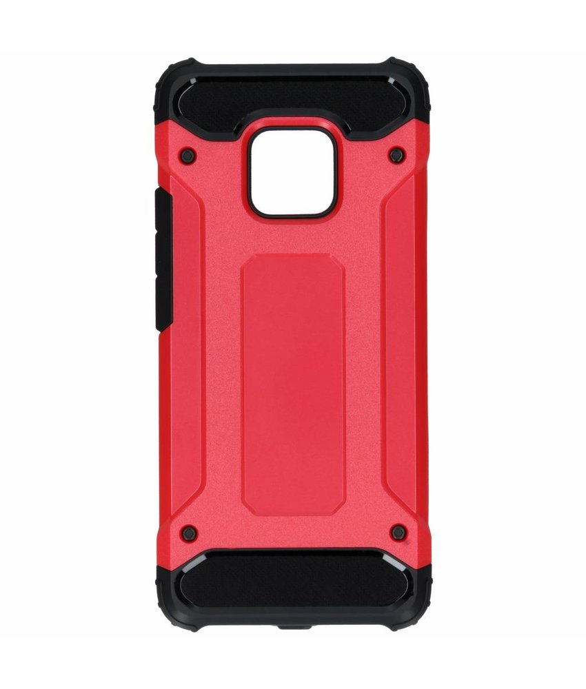 Rood rugged xtreme case Huawei Mate 20 Pro