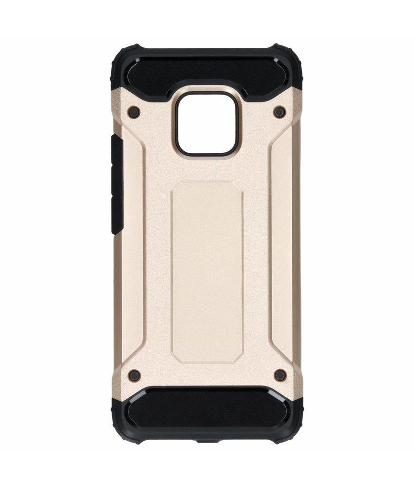 Goud rugged xtreme case Huawei Mate 20 Pro