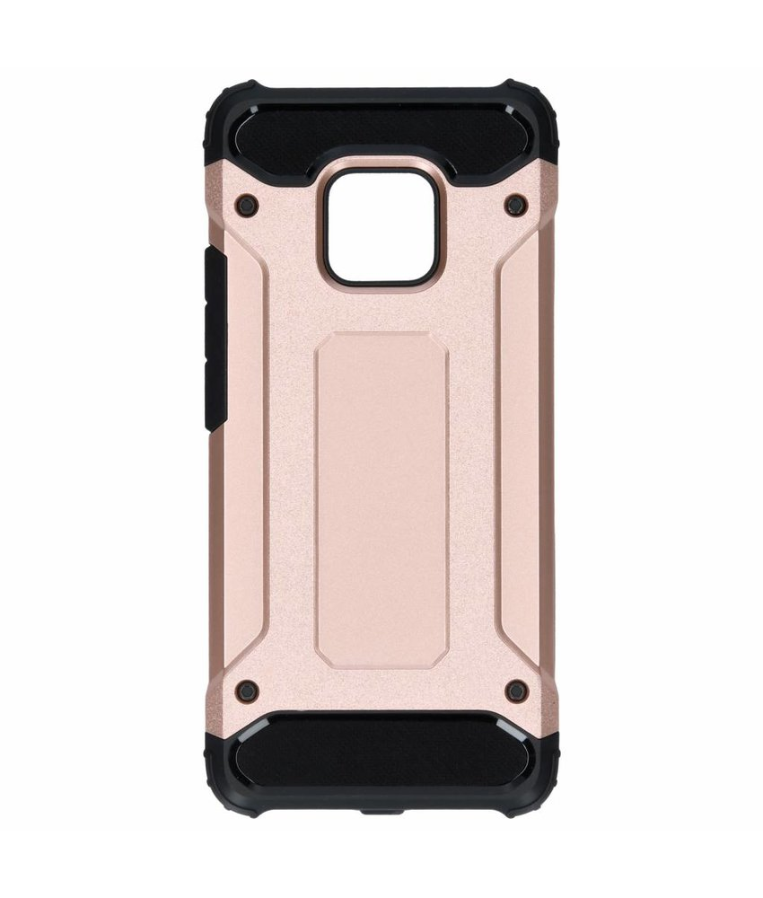 Rosé Goud rugged xtreme case Huawei Mate 20 Pro