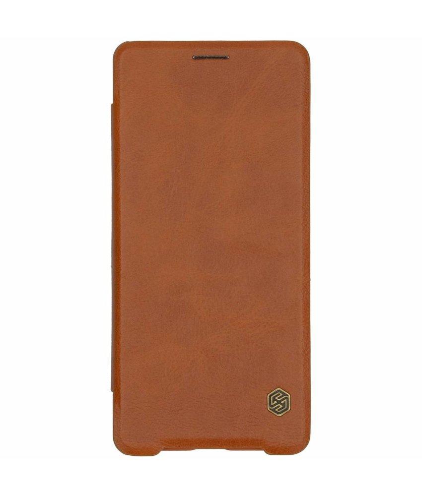 Nillkin Qin Leather Slim Booktype Sony Xperia XZ3