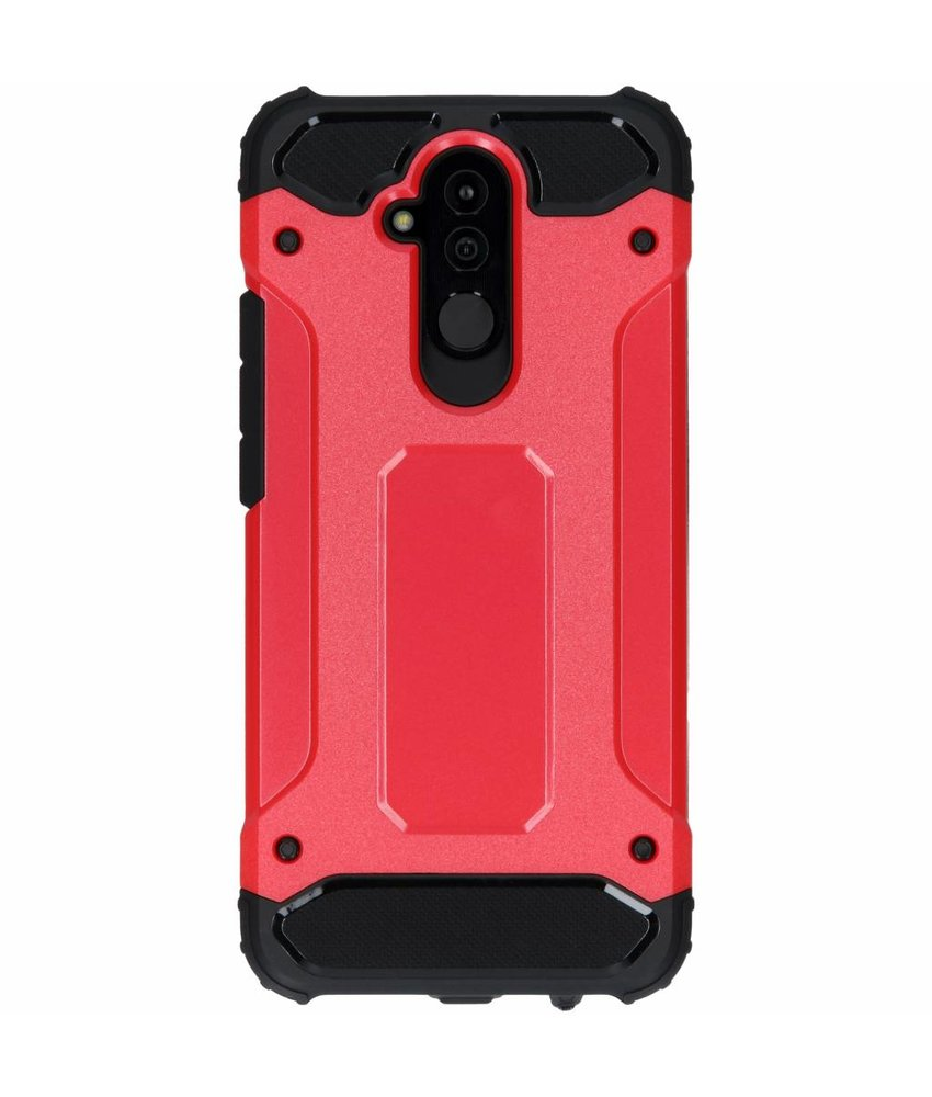 Rood Rugged Xtreme Case Huawei Mate 20 Lite
