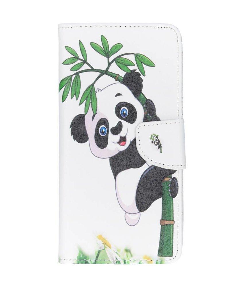 Design Softcase Booktype Huawei P Smart Plus