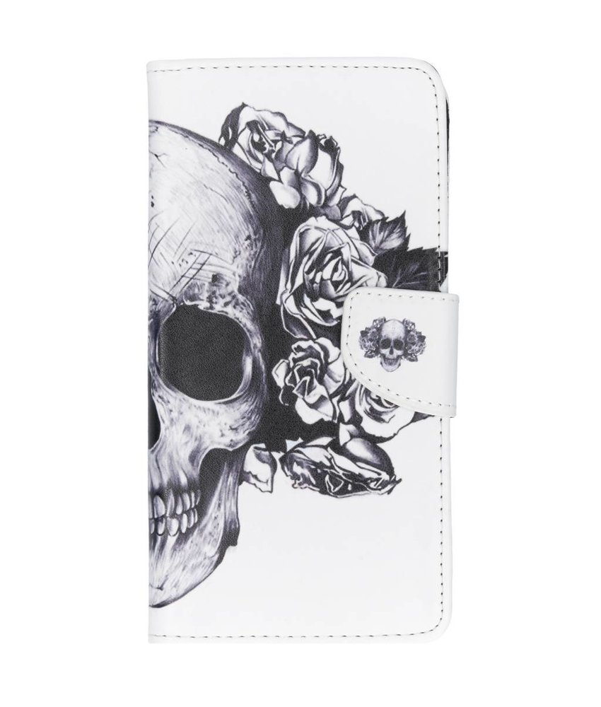 Design TPU booktype hoes Huawei P Smart Plus
