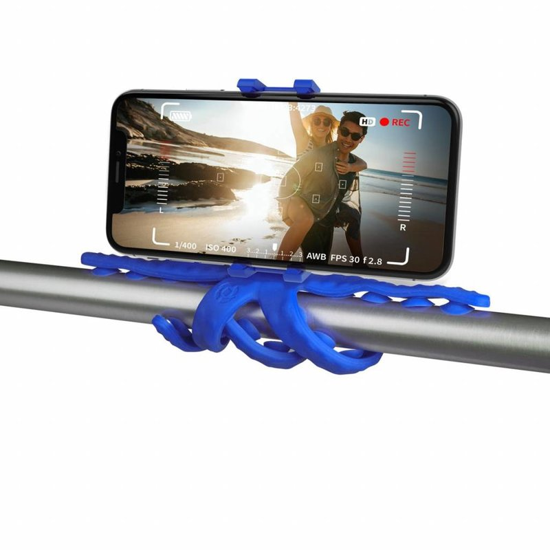 Blauw Squiddy Flexible Holder