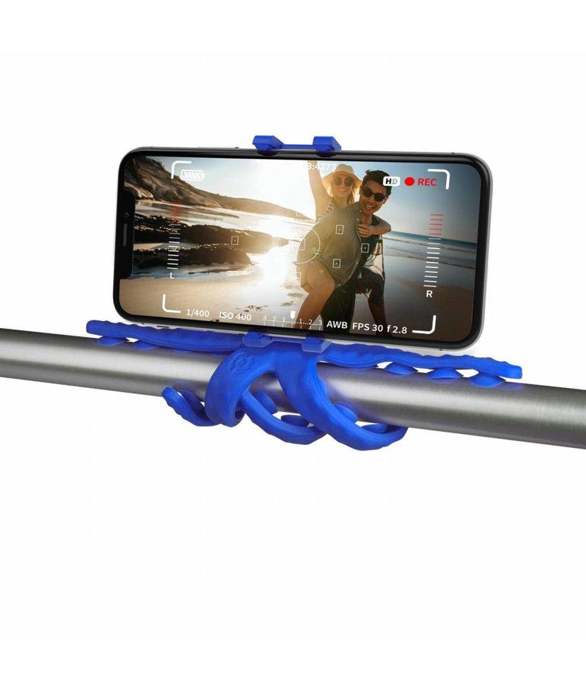 Blauw Squiddy Flexible Holder